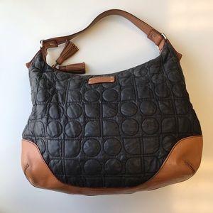 Kate Spade quilted bag black brown